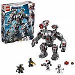 LEGO Marvel Avengers War Machine Buster 76124 $28 + Get FREE $10 Walmart Gift Card