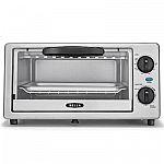 BELLA 4-Slice Stainless Steel Toaster Oven $5.98 (YMMV)