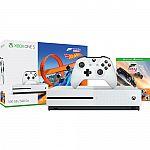 Microsoft Xbox One S Forza Horizon 3 Hot Wheels Bundle + Free Thrustmaster Headset $189
