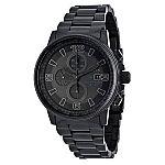 Citizen Men's Eco-Drive Night Hawk Chronograph Watch CA0295-58E $190 and more