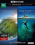 Planet Earth II & Blue Planet II Collection (4K UHD Blu-ray) $25, Planet Earth II $6.69