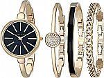 Anne Klein Watch and Swarovski Crystal Bracelet Set $49 & More Anne Klein Watch Gifts Up to 65% off