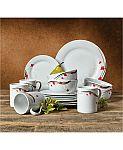 Tabletops Unlimited Kara 16-Pc. Dinnerware Set $18 (74% Off)