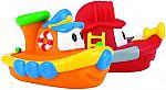 Nuby 2-Pack Tub Tugs Floating Boat Bath Toys $4.73