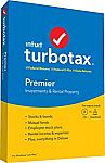 2019 Turbotax Deluxe + Free State 2019 $39.88, Premier $55, Home & Business $65