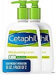2-Pk 16-oz Cetaphil Moisturizing Lotion for All Skin Types $10.24 or Less