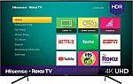 """Hisense 55"""" LED R6070E3 Series 2160p Smart 4K UHD Roku TV $230"""