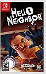 Hello Neighbor - Nintendo Switch $9.99