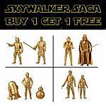 Walmart BOGO Free Star Wars Skywalker Saga Figures (4 Figures from $9.99)