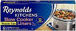 6 Count Reynolds Kitchens Premium Slow Cooker Liners - 13 x 21 Inch $2.47