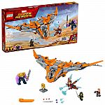 LEGO Marvel Super Heroes Avengers: Infinity War Thanos: Ultimate Battle 76107 Guardians of the Galaxy Starship (674 Pieces) $56