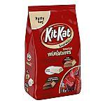 36oz Kit Kat Miniatures Variety Pack (White, Milk & Dark Chocolate) $7.20