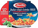 Pack of 6 Barilla Italian-Style Entrees, Tomato & Basil Penne, 9 Ounce $8.87