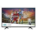 """49"""" Hisense 49H6E 4K UHD HDR Smart LED HDTV $220"""
