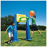 "72"" Big Play Sports Jumbo Inflatable Basketball Hoop Set w/ 16"" Ball $10 (Org $40) + Free Shipping"