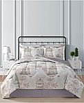 Macys - Fairfield Square Collection Reversible 8-Pc. Comforter Sets (All Size, Various Colors) $30 (Org $100) + Free Shipping