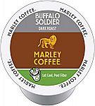 144-count Marley Coffee Single Serve K-cup Capsules, Marley Coffee Single Serve K-cup Capsules, Buffalo Soldier, Dark Roast $12