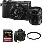 Panasonic GX85 Camera + 12-32mm Lens + 45mm-150mm Lens $498