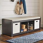 Better Homes and Gardens 4-Cube Organizer Storage Bench $60 (Org $100)