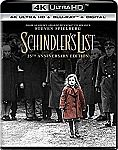 Select 4K UHD Movies (3 for $39.99): Schindler's List; Jurassic World; Apollo 13; Crouching Tiger, Hidden Dragon and more