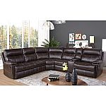 Abbyson Living Caterina 6-Piece Reclining Sectional $1499 Shipped