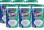 Amazon: Save 20% on Clorox professional products: 6-Pk of 75-Ct Clorox Commercial Solutions Disinfecting Wipes (Fresh Scent) $21 & More