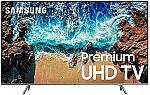 "Samsung UN82NU8000FXZA Flat 82"" 4K UHD 8 Smart LED TV $1999"