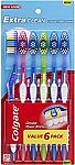Colgate Extra Clean Full Head Toothbrush, Medium - 6 Count $3.33 and more