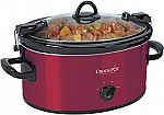 Crock-Pot 6-Quart Cook & Carry Oval Manual Portable Slow Cooker $19.35 (Org $44)