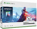 Xbox One S 1TB Console - Battlefield V Bundle $200, Xbox One X 1TB NBA 2K19 Bundle + Extra Xbox Wireless Controller $380