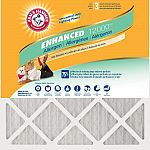 Arm & Hammer Odor Allergen and Pet Dander Control Air Filter (12-Pack, Various Size) $54.45 (45% Off) + Free Shipping
