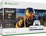 Microsoft Xbox One S 1TB Console - Anthem Bundle $245 or $250