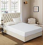 Bed Bug & Liquid Proof Waterproof Mattress Protector: Full $7.50; Queen $8.50; King $10