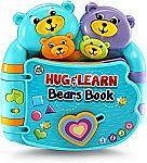 LeapFrog Hug and Learn Bears Book $8.52 (Org $15)