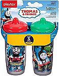Playtex Sipsters Stage 3 Thomas The Train Spill-Proof Spout Sippy Cups $6.99