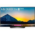 """(Price Dropped) LG OLED65B8PUA 65"""" Class B8 OLED $1599, LG OLED55B8PUA 55"""" Class B8 OLED 4K HDR AI Smart TV (2018 Model) $999"""