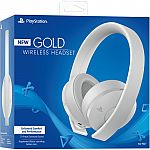 Sony PlayStation Gold Wireless Headset (White) $70