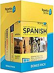 Learn Spanish: Rosetta Stone Bonus Pack (24 Month Subscription + Lifetime Download + Book Set) $118 (Today only)