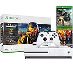 1TB Microsoft Xbox One S Console & Anthem: Legion of Dawn & Titanfall 2 with Bonus Nitro Pack Bundle $240