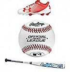 Amazon Deal of Day - Spring Baseball and Softball Gear and Accessories Sale