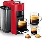 Nespresso Vertuo Evoluo Coffee and Espresso Machine by De'Longhi $102 (orig. $200)