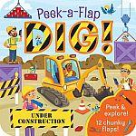 Dig: Peek-a-Flap Board Book $4.50 (50% Off)