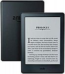 "Kindle E-reader - Black, 6"" Display, Wi-Fi, Built-In Audible (without Special Offer) $49.99"