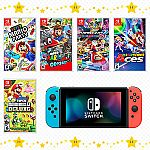 Nintendo Switch™ system plus a select Nintendo Switch game $329.98 or get a select Game for $39.99 (Start March 10th)