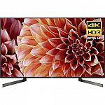 """Sony X900F 4K TV 65"""" $1098, 75"""" $1798, 85"""" $2998"""
