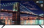 """55"""" TCL 55R617 4K UHD HDR Roku Smart HDTV $456"""