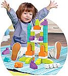 Mega Bloks 60-Piece Imagination Block Buildable Playset $4.75 (orig. $15) (Add-on item)