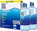 2- Pack 12 Oz Bausch + Lomb ReNu Lens Solution $6.43 and more