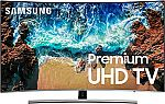 """Samsung NU8500 (UN55NU8500) 55"""" Class LED Ultra HD Curved 4K Smart TV w/ HDR $750 and more"""