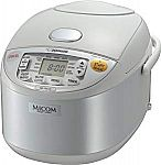 Zojirushi NS-YAC10 Umami Micom 5.5 Cup Rice Cooker and Warmer $99.95 (Org $182)